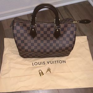 LV Speedy 30 Demier Ebene w dust bag, lock, 2 keys